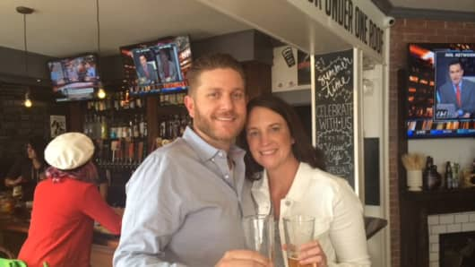 Co-founders and husband-wife team Flash and Melani Gordon built on San Diego's craft brewing industry for their start-up TapHunter.
